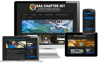 EAA Chp 461 Web Site Design by Anthony Colonna