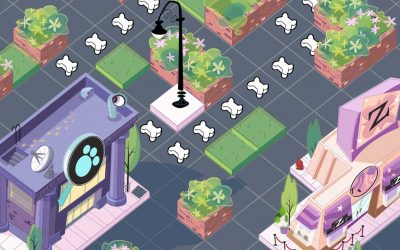 Littlest Pet Shop Club Game Art by Anthony Colonna