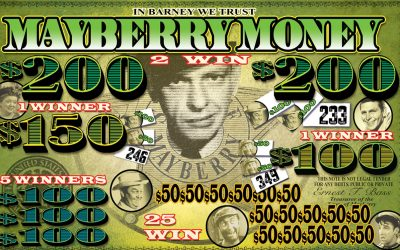 Mayberry Money game art by Anthony Colonna