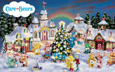 Care Bears Christmas Village Collectibles Collection Product Design by Anthony Colonna