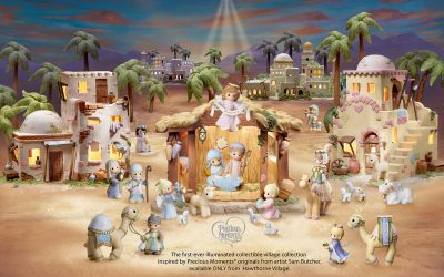 Precious Moments Bethlehem Village Collectibles Product Design by Anthony Colonna