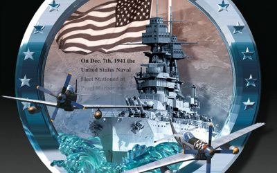 Pearl Harbor Memorial Plaque Product Design by Anthony Colonna
