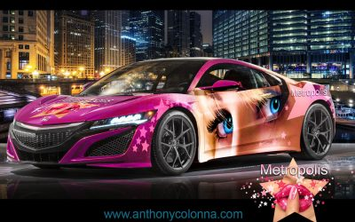 Metropolitan Vehicle Wrap by Anthony Colonna